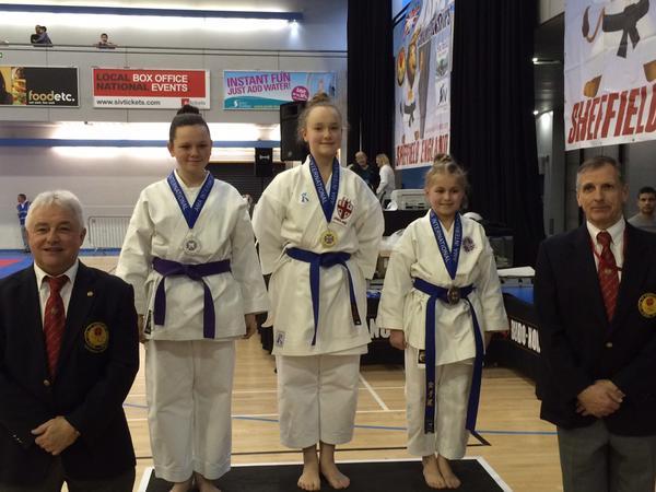 Welsh Karate Union - An excellent performance by Lauren